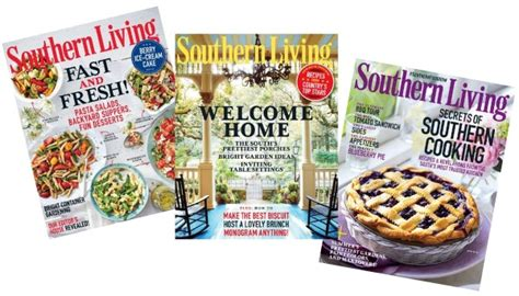 Southern Living Sweepstakes 2016 - free subscription to southern living