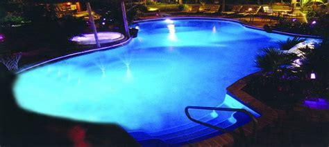 pool at night custom inground pool at night