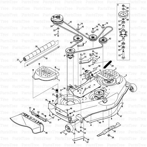cub cadet rzt 50 parts diagram cub cadet pulley diagram periodic diagrams science