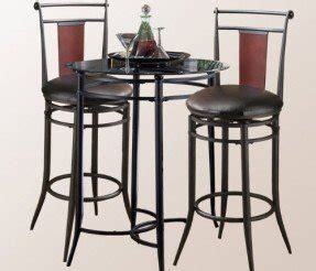 Glass Bistro Table And 2 Chairs Glass Top Bistro Table Set Foter