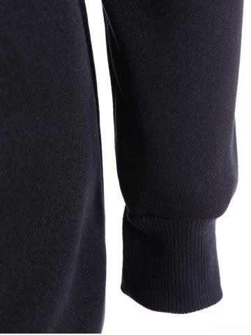 blue s slim pockets design pullover neck hoodie rosegal com black m slim pockets design pullover neck hoodie rosegal