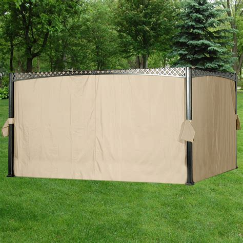 replacement privacy curtains gazebo big lots gazebo replacement canopy covers and netting sets
