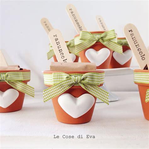 vasi per bulbi le cose di bomboniere ecosostenibili vasetti con bulbi