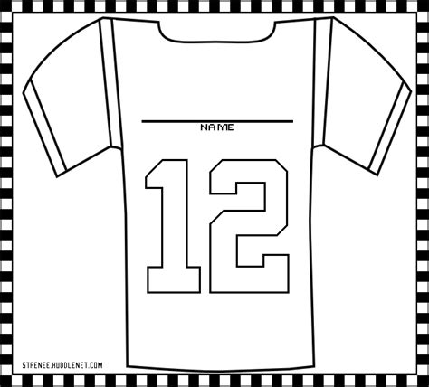printable football jersey numbers football jersey free coloring pages