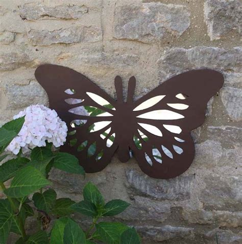 Butterfly Garden Wall Mirror By Garden Selections Butterfly Garden Wall