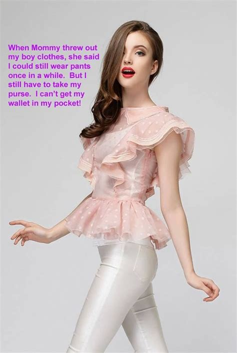 sissy bimbo 1069 best tg caps images on pinterest