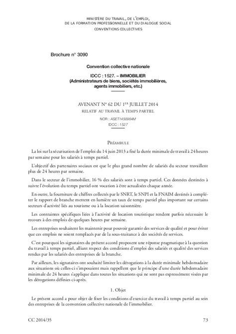 Modification Du Contrat De Travail Pour Invalidité by Modele Contrat De Travail A Temps Partiel Cdd Document