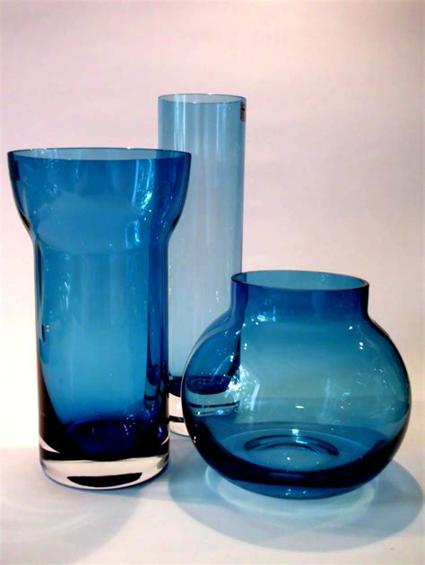 Vase Trio by Vase Trio By Hans Theo Baumann For Gralglas Collectors