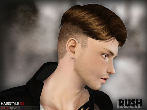 download hair male the sims 2 s club hair n5