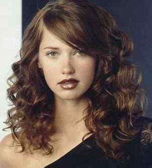 hairstyles for curly unmanageable hair all fashion show trendy curly hair bangs ideas