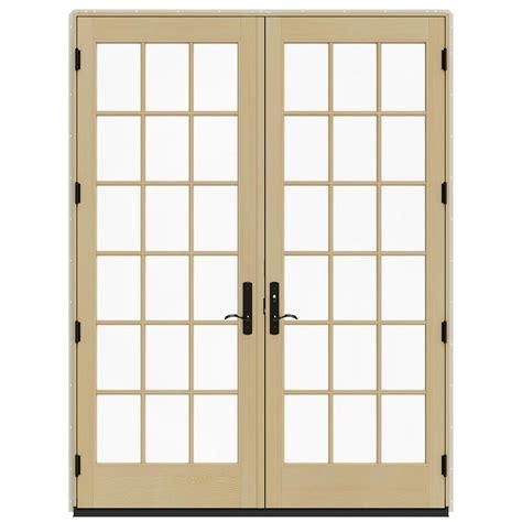 jeld wen patio doors reviews jeld wen 71 25 in x 95 5 in 18 lite cl swinging