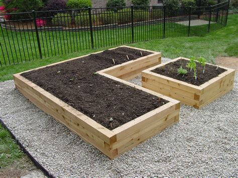 Landscape Timbers Tacoma Lowes Raised Garden Bed The Tacoma Kitchen Garden Journal