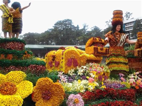 festival new year month of january baguio city baguio city baguio city philippines the panagbenga is