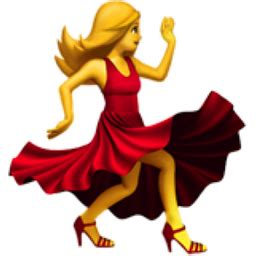 salsa dancing emoji woman dancing emoji u 1f483