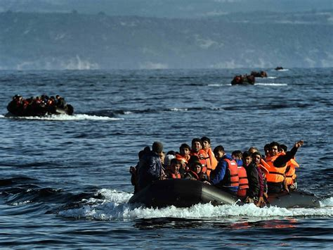 refugee boat sank report terrorist was rescued from refugee boat breitbart