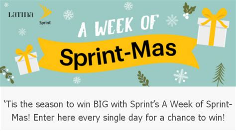 Sprint Sweepstakes 2017 - latina s a week of sprint mas sweepstakes win iphone x