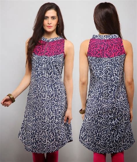 back pattern for kurti 10 best floral print cotton kurtis looksgud in