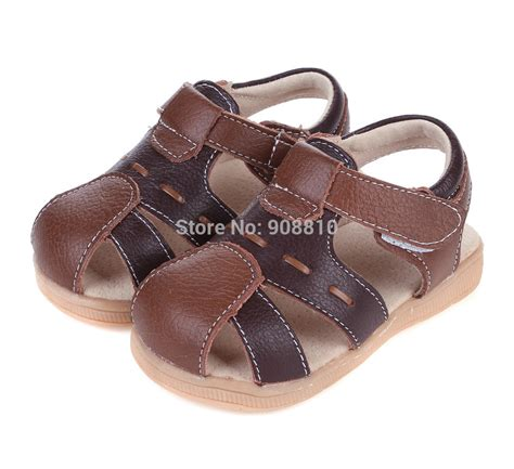 baby boy brown sandals baby boy sandals soft leather brown black velcro