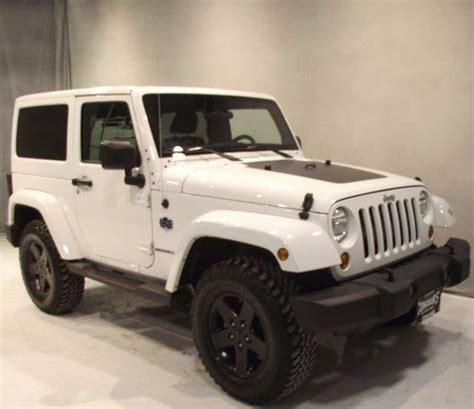 Jeep Wrangler Arctic Edition For Sale Buy Used 2012 12 Jeep Wrangler Arctic Edition 2dr 4x4 Suv