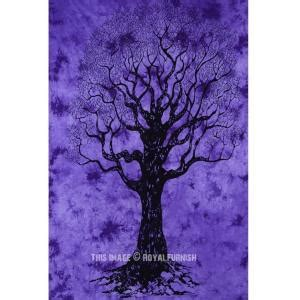 Wall Stiker 60x90 Am9105 Purple Tree silhouette tree of wall hanging flower tree olive tree wall bc olivetree wall 8937big jpg