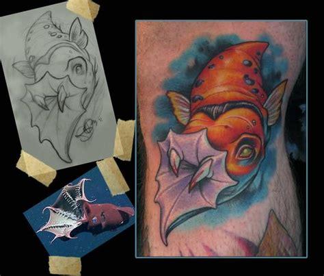 vampire squid tattoo by scotty munster tattoonow