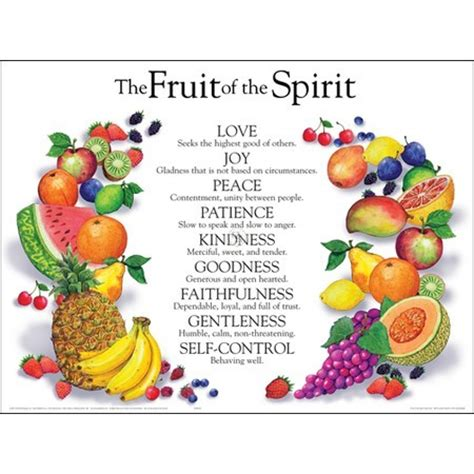 7 fruits in the bible thoughts on new earth my experience with success journaling