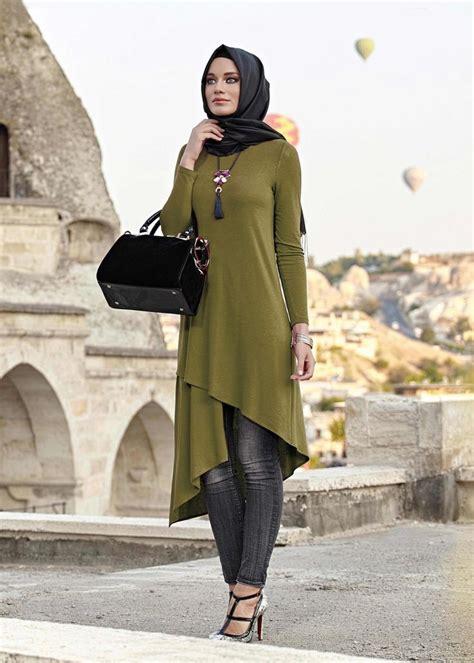 Batikasli Fashion Muslim Tunic Ayunda 4055 jenya tesett 252 r tunik 36 44 38 40 tek42 tunics the and colour