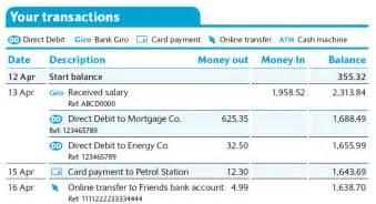 barclays bank statement template free book td bank investor presentation pdf free