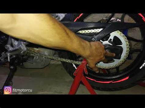 motosiklet zinciri nasil gerilir zincir ayari nasil