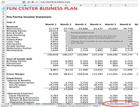 Fun Center Business Plan Fec Business And Family Entertainment Center Business Planning Arcade Business Plan Template