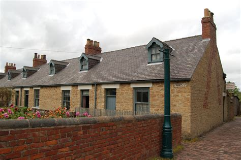 Beamish Cottages by File Miners Cottages Pit Beamish Museum 11