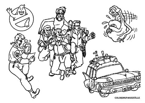 free coloring pages ghostbusters free coloring pages of ghostbuster