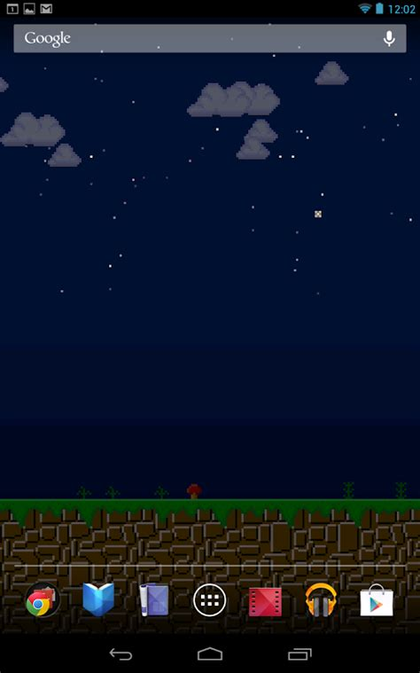 Wallpaper Android No Scroll | 8 bit scrolling wallpaper lite google play の android アプリ