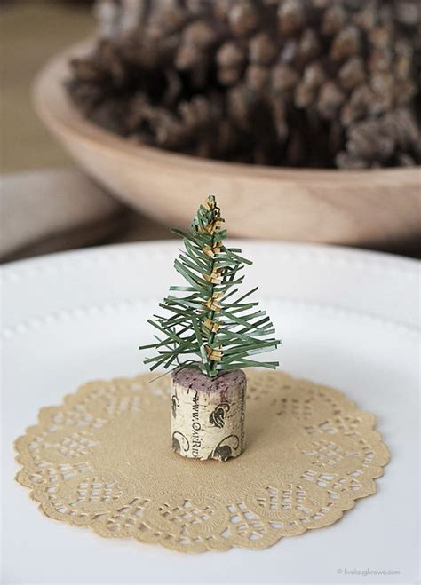 cork christmas tree simple wine cork trees live laugh rowe