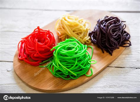 how to color pasta color pasta vegetarian food stock photo 169 keola 157473268