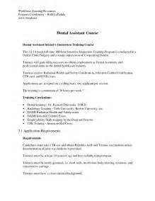 2016 dental assistant cover letter sle writing resume