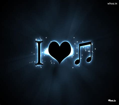 wallpaper hd love for mobile i love music hd wallpaper for mobile