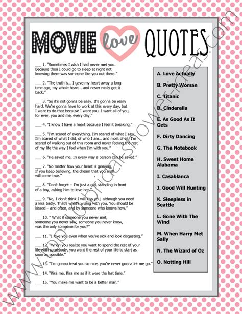 film quotes and answers love movie quotes game answers quotesgram