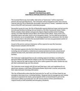 proposal template 140 free word pdf format download