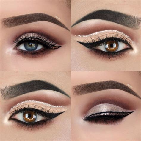 Eyeshadow No Glitter glitter cut crease eyeshadow techniques that are all kinds of chic livingly