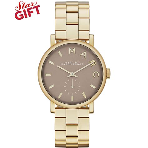 marc by marc s baker gold tone stainless