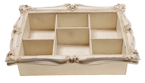 cream romantic shabby chic wall shelving by sass belle