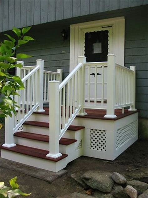 Front House Stairs Design Work Stairs Walkway Exterior House Search Home Pinterest Front Stoop Deck