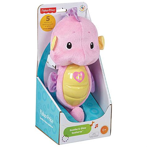 fisher price wonders soothe and glow seahorse