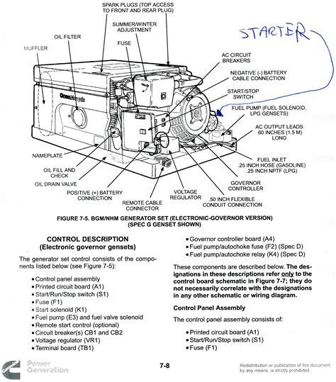 onan generator parts diagram onan rv generator wiring diagram efcaviation