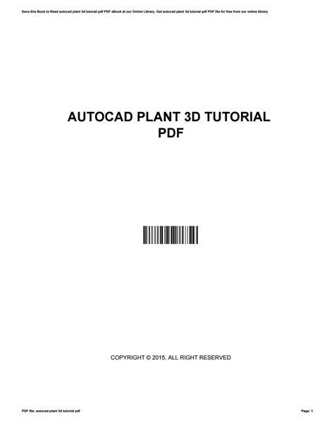 tutorial autocad plant 3d 2013 pdf autocad plant 3d tutorial pdf by harvard ac uk91 issuu