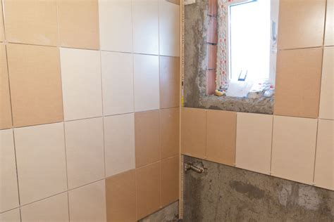 installing tile around bathtub how to install wall tile in bathroom howtospecialist how to build step by step