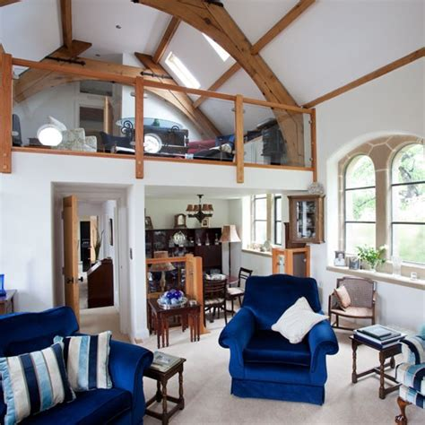 Take A Tour Around A Delightful Remodelled Church Hall Living Room Church