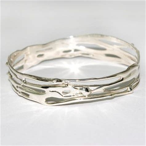 Handmade Silver Bangles Uk - best 25 handmade silver jewelry ideas on