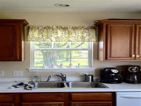 stylish and modern kitchen window curtain ideas cabinet